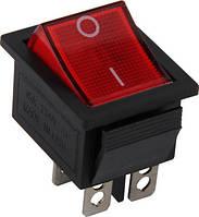 Переключатель клавишный без индикации E.NEXT -  4 pin (4с); ON-OFF