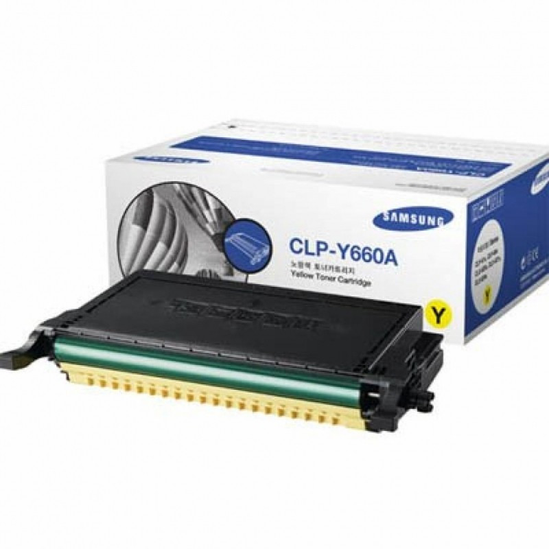 Картридж Samsung CLP-610ND/ 660N/ ND yellow