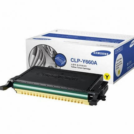 Картридж Samsung CLP-610ND/ 660N/ ND yellow, фото 2