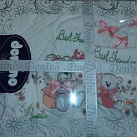 Подарочные наборы для новорожденных девочек..Лучшие друзья