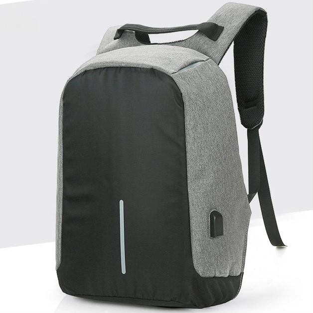 серый мужской рюкзак