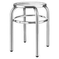 Табурет круглый стул для кухни из нержавеющей стали