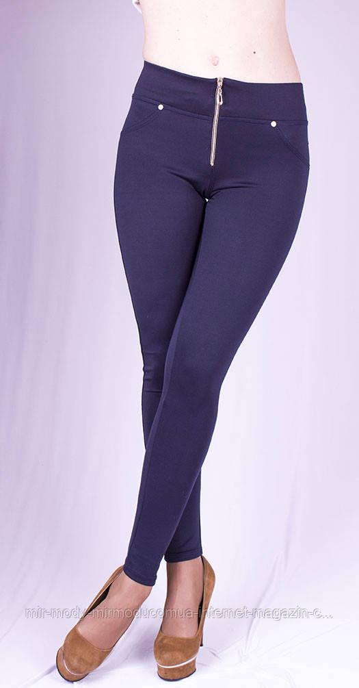 Леггинсы Гульфик синие с 40 по 64 размер осень/зима