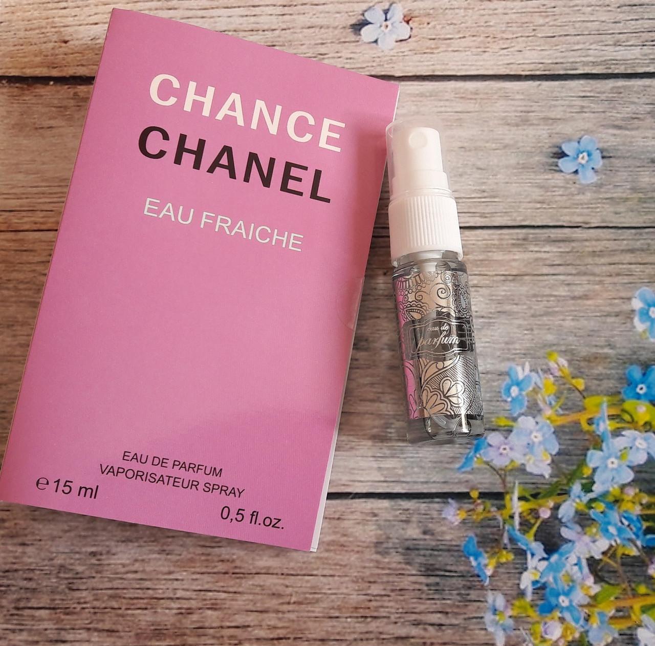 Туалетная вода женская Chanel Chance eau Fraihce - 15 мл