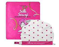 Маска-шапочка для повреждённых волос с протеином Etude House Silk Scarf Damage Protein Steam Hair Pack