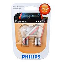 Лампа накаливания P21W12V 21W BA15s (blister 2шт) (производитель Philips) 12498B2