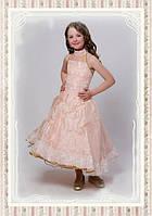 Цветок Персика. Нарядное платье, выпускное платье, красивое платье
