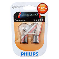Лампа накаливания P21/5W12V 21/5W BAY15d (blister 2шт) (производитель Philips) 12499B2