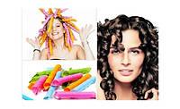 Волшебные спиральные бигуди Magic Curirollers Magic Leverage для длинных волос 55 см купить в Украине