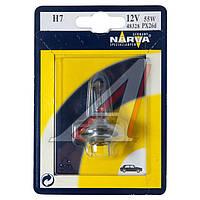Лампа накаливания H7 12V 55W PX26d (производитель Narva) 48328B1