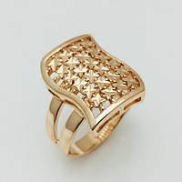 Перстень женский Звездный, размер 17, 20, 21