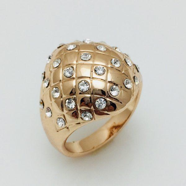 Кольцо большое Белла, размер 18
