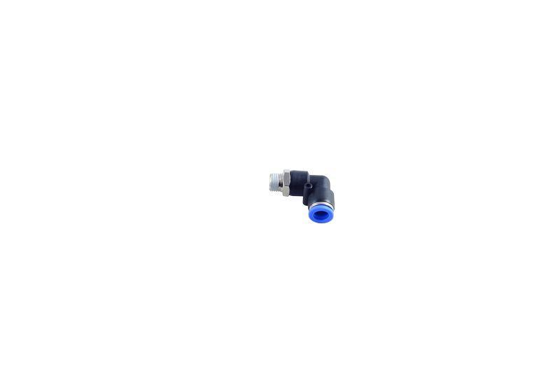 Фитинг угловой для пластиковых трубок 8мм с наружной резьбой 1/4