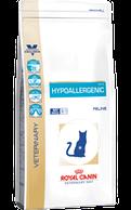 Royal Canin Hypoallergenic Felline 2.5 кг - диета для кошек при пищевой аллергии/непереносимости