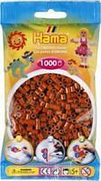 Бусины для термомозаики коричневые 1000шт 5 мм (Дания) Hama 207-20