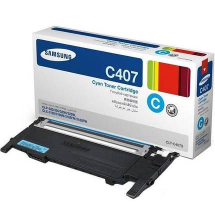 Картридж Samsung CLP-320/ 320N/ 325, CLX-3185/ 3185N 3185FN cyan, фото 2