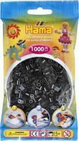 Бусины для термомозаики черные 1000шт 5мм Hama 207-18