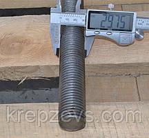 Шпилька М30 DIN 975 левая резьба