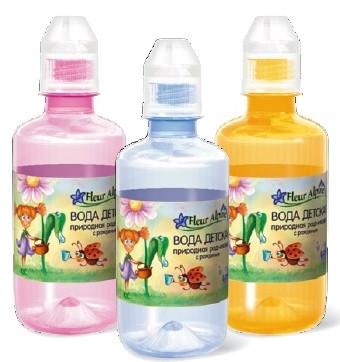 Вода детская природная родниковая Fleur Alpine 0,25