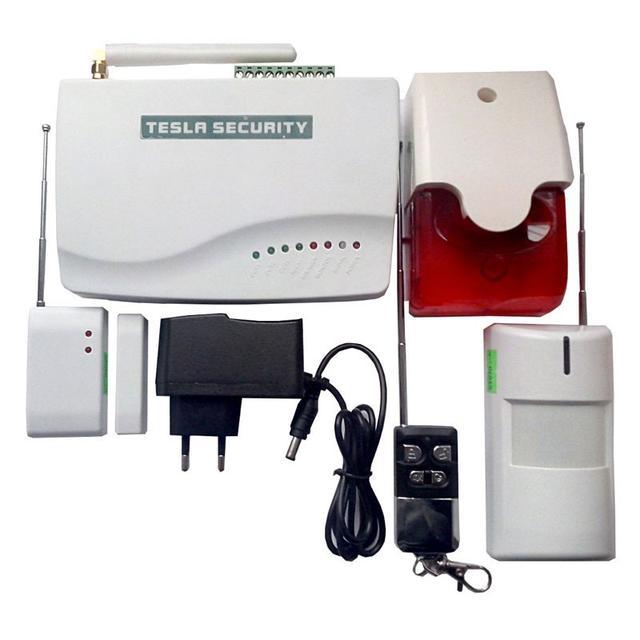 GSM сигнализации TESLA SECURITY с WiFi модулем