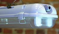Светильник LED ЛПП промышленный / влагозащищенный с лампами 36W IP65 2*1200мм 4000/6400K