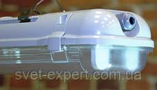 Світильник LED ЛПП промисловий / вологозахищений з лампами 36W IP65 2*1200мм 4000/6400K, фото 3
