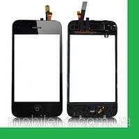 Apple iPhone 3G Тачскрин (сенсор) в рамке с кнопкой HOME черный