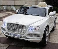 Детский электромобиль Bentley JJ2158ELR-1,кожаное сиденье, колеса Eva