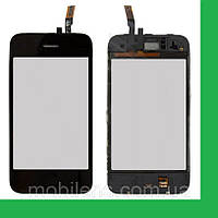 Apple iPhone 3GS Тачскрин (сенсор) в рамке с кнопкой HOME черный