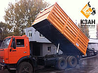 Переоборудование КамАЗ-55102 в самосвал