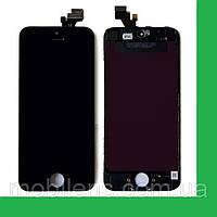 Apple iPhone 5 Дисплей+тачскрин(сенсор) в рамке черный high-copy