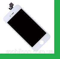Apple iPhone 5 Дисплей+тачскрин(сенсор) в рамке белый high-copy