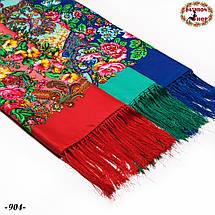 Павлопосадский платок Джиорджина, фото 3