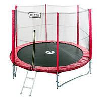 Батут для детей с защитой Atleto Mip 252 см + лестница