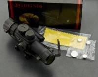 Прицел оптический 4x25 Ranger с подсветкой и целеуказателем, для огнестрельного и пневматического оружия