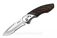 Выкидной нож со стропорезом, для активных туристов и экстремалов