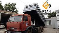 Переоборудование КамАЗов 5320, 55102 в зерновоз