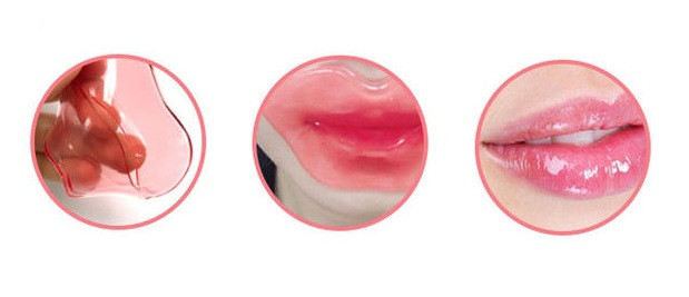 The Saem Secret Pure Rosy Lips Gel Patch