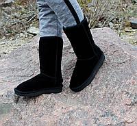 Замшевые женские угги UGG Australia черные