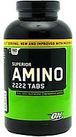 Аминокислоты, OPTIMUM NUTRITION, Superior Amino 2222, 160 tab