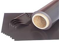Изотропный магнитный лист с КЛЕЕВЫМ СЛОЕМ. Размер: 1.0m*620mm*0.4mm