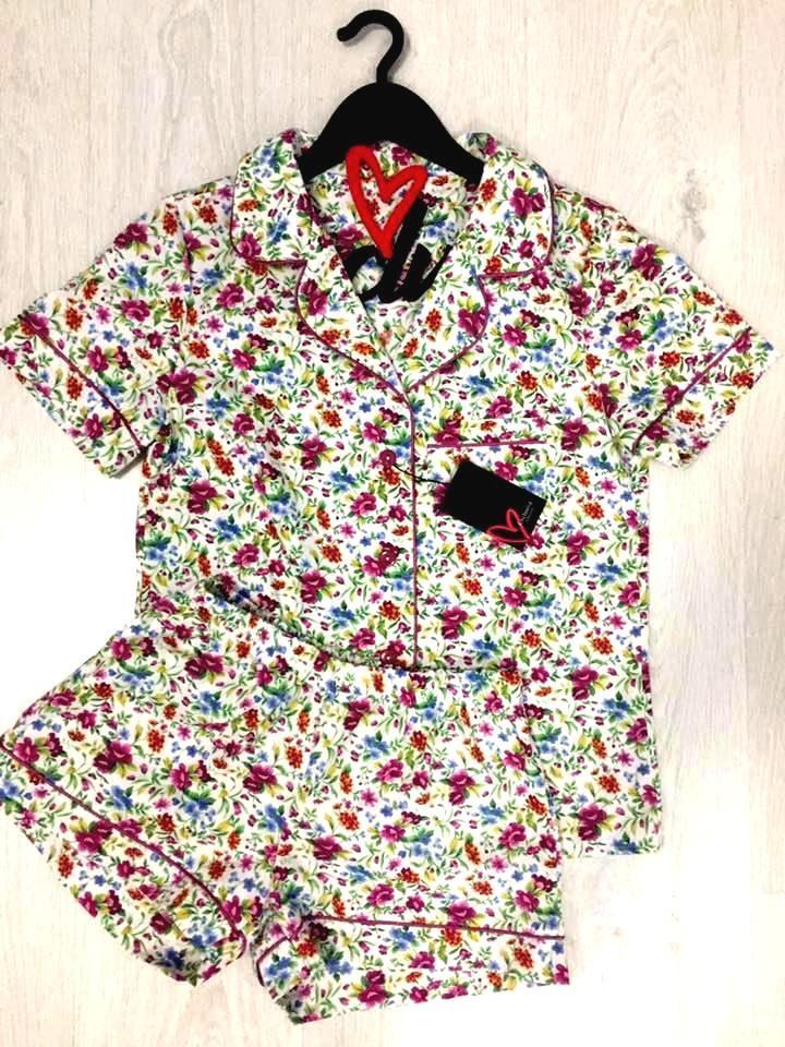 Пижама с шорты  рубашкой