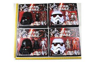 Маски Star Wars с фигурками