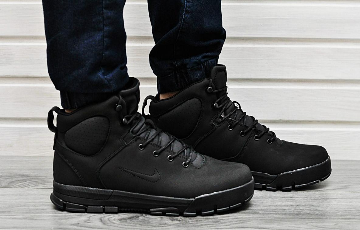 72cb2b09afea Мужские зимние кроссовки Nike Air Nevist 6 на меху (Реплика AAA+) -  Интернет-