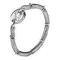 Серебряный браслет для бусин Прекрасный лебедь 20 000035862