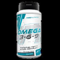 TREC NUTRITION Omega 3-6-9  120 кап