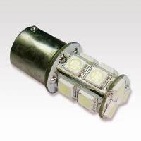 Автосветодиод S25-BA15S-13SMD(5050)-24V