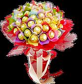 Букети із цукерок