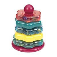 Развивающая игрушка ЦВЕТНАЯ ПИРАМИДКА (7 предметов) Battat Lite (BT2407Z)