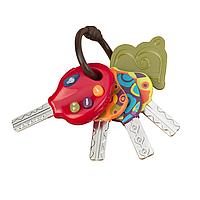 Развивающая игрушка – СУПЕР-КЛЮЧИКИ (свет, звук, томатный) Battat (BX1227Z)
